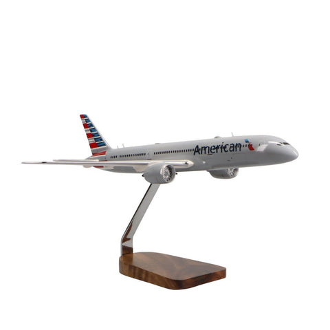 Aircraft Models - Boeing 787-9 American Airlines Limited Edition Large Mahogany Model