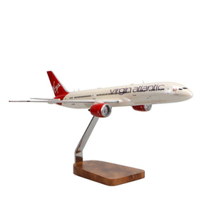 Aircraft Models - Boeing 787-9 Virgin Atlantic Birthday Girl Limited Edition Large Mahogany Model