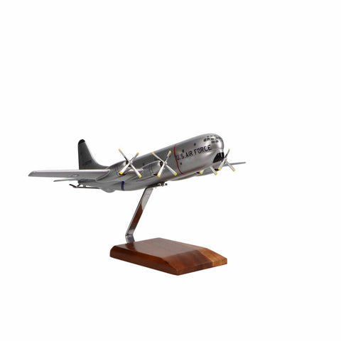 Aircraft Models - Boeing KC-97G Stratofreighter Limited Edition Large Mahogany Model