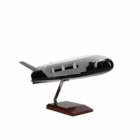 Aircraft Models - Boeing X-37B Orbital Space Shuttle Limited Edition Large Mahogany Model