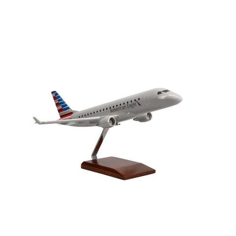 Aircraft Models - Embraer E175 American Airlines Limited Edition Large Mahogany Model