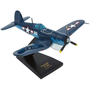 Aircraft Models - F4U-1D Corsair Mahogany Model 1/48 Scale