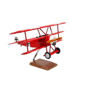 Aircraft Models - Fokker Dr.I Limited Edition Large Mahogany Model