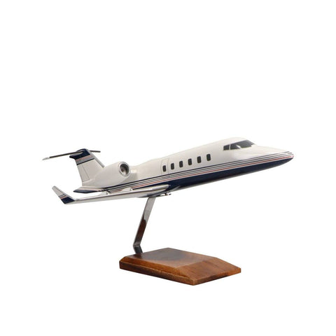 Aircraft Models - Learjet 60 Limited Edition Large Mahogany Model
