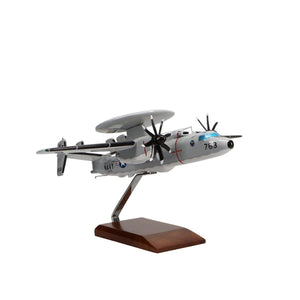 Aircraft Models - Northrop Grumman E-2D Advanced Hawkeye Limited Edition Large Mahogany Model