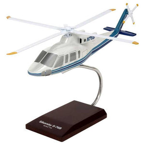 Aircraft Models - S-76B Demonstrator Resin Model