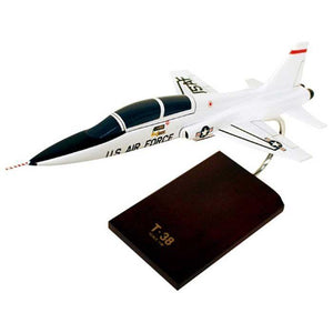 Aircraft Models - T-38A Talon USAF Mahogany Model
