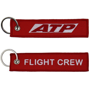 "Airline Transport Professionals - ATP Flight Crew 5"" Embroidered Keychain"