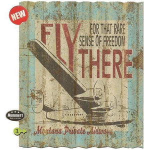 Artwork & Prints - Fly There Personalized Corrugated Sign 29x38