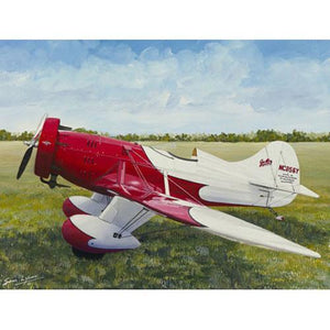 Artwork & Prints - Gee Bee Air Racer Limited Edition Sam Lyons Print
