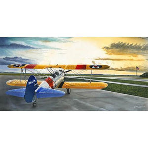 Artwork & Prints - Stearman Sunrise Limited Edition Sam Lyons Print