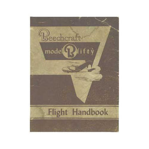 Beech Bonanza - Beech B-50 Flight Handbook (part# 50-590039-1)