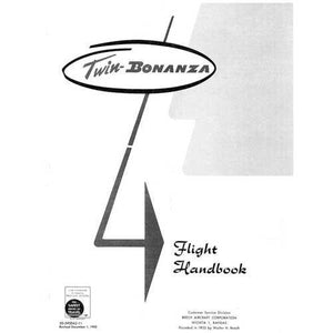 Beech Bonanza - Beech C-50 Flight Handbook (part# 50-590042-11)