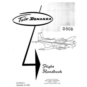 Beech Bonanza - Beech D-50 Flight Handbook (part# 50-590015-1)