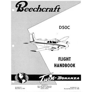 Beech Bonanza - Beech D-50C Flight Handbook (part# 50-590127-1)