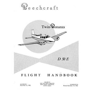 Beech Bonanza - Beech D-50E Flight Handbook (part# 50-590129-1)