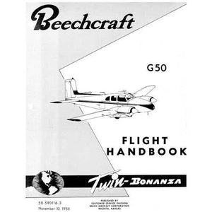 Beech Bonanza - Beech G-50 Twin Bonanza Flight Handbook (part# 50-590116-3)