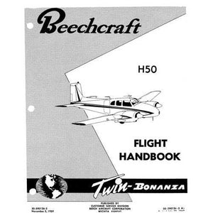 Beech Bonanza - Beech H-50 Flight Handbook (part# 50-590126-3)