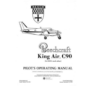 Beech King Air - Beech King Air C90 Pilot's Operating Handbook (part# 90-590010-55)
