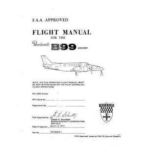Beech Model 99 - Beech B99 Series Flight Manual (part# 99-590026-1)