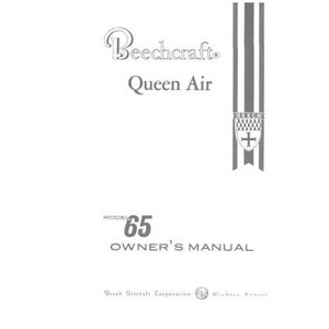 Beech Queen Air - Beech Queen Air 65 Series Owner's Manual (part# 65-001021-23)