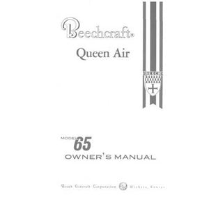 Beech Queen Air - Beech Queen Air 65 Series Owner's Manual (part# 65-001021-27)