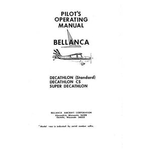 Bellanca - Bellanca 8GCBC Scout Owner's Manual (part# BL8GCBC-O)
