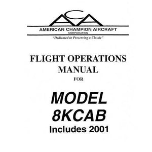Bellanca - Bellanca 8KCAB Decathlon 1971 Flight Manual (part# BE8KCB71-F)