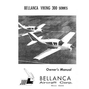 Bellanca - Bellanca Viking 300 Series Owner's Manual (part# BL300SER-OC)