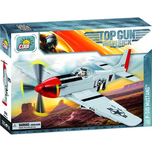 Blocks - Top Gun Mustang P-51D 265pc Set Cobi Blocks