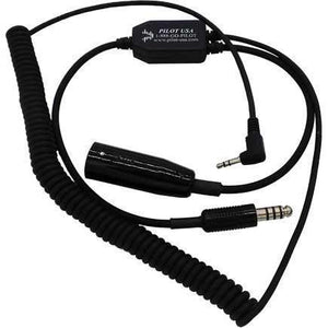 Cell And Music Adapters - Pilot USA Helicopter Headset Digital Video Recorder Adapter