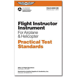 Certified Flight Instructor - ASA Practical Test Standards: CFI - Instrument
