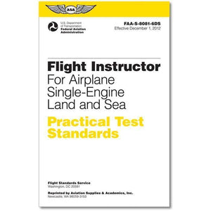 Certified Flight Instructor - ASA Practical Test Standards: CFI - Single-Engine