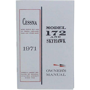 Cessna 172 - Cessna 172L & Skyhawk 1971 Owner's Manual
