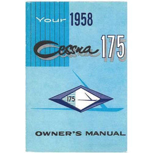 Cessna 175 - Cessna 175 1958 Owner's Manual
