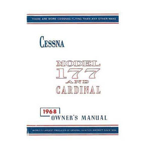 Cessna 177 - Cessna 177 & Cardinal 1968 Owner's Manual