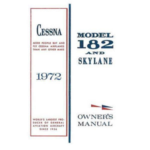 Cessna 182 - Cessna 182P & Skylane 1972 Owner's Manual