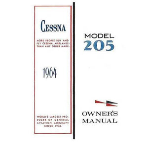 Cessna 205 - Cessna 205A 1964 Owner's Manual