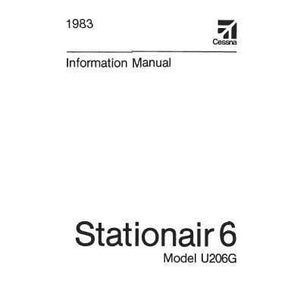 Cessna 206 - Cessna U206G Stationair 6 1983 Pilot's Information Manual (D1240-13)
