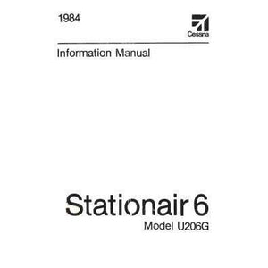 Cessna 206 - Cessna U206G Stationair 6 1984 Pilot's Information Manual (D1261-13)