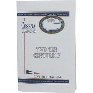 Cessna 210 - Cessna 210F 1966 Owner's Manual