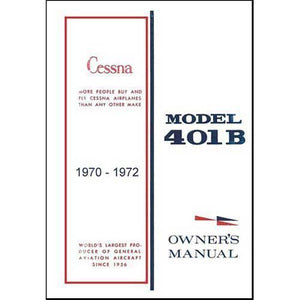 Cessna 401 - Cessna 401B 1970-1972 Owner's Manual