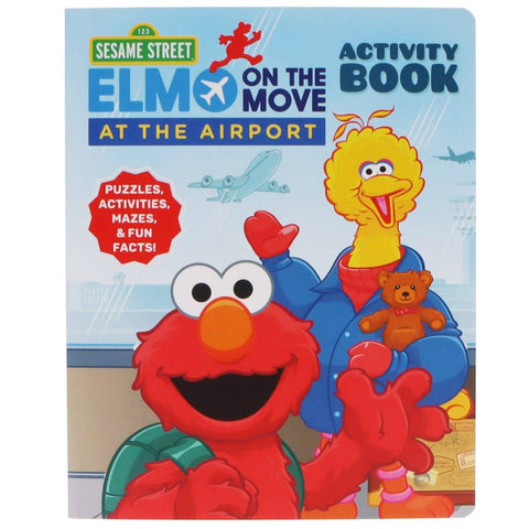 Childrens Books & Home Accents - At The Airport - Sesame Street's Elmo On The Move