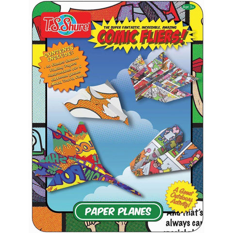 Childrens Books & Home Accents - Comic Flyers Activity Tin