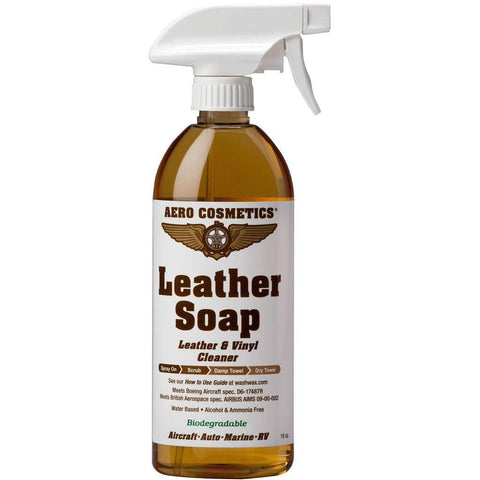 Cleaning & Polishing - Wash Wax ALL Leather Soap - Leather & Vinyl Cleaner