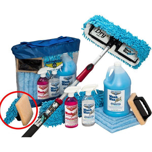 Cleaning & Polishing - Wash Wax ALL Waterless Mop Kit W/ Bug Scrubber