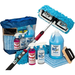 Cleaning & Polishing - Wash Wax ALL Waterless Mop Kit W/ Deluxe Pole (4' To 9')