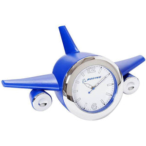 Clocks & Thermometers - Boeing Blue Plane Clock