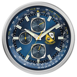 Clocks & Thermometers - Promaster Blue Angels Face Replica Citizen Clock