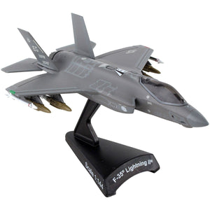 Die Cast Planes - F-35(A) Lightning II 58th FS 1/144 Scale Postage Stamp Die-cast Model